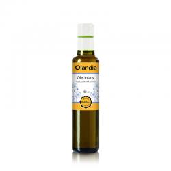 Olej lniany 250 ml-OLANDIA