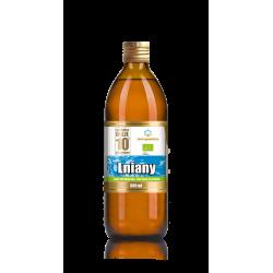 EKO Olej lniany zimnotłoczony 500 ml