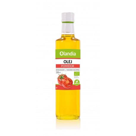 Ekologiczny Olej Słonecznikowy z Pomidorem