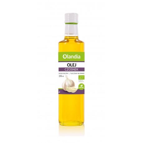 Ekologiczny Olej Słonecznikowy z Czosnkiem 250ml