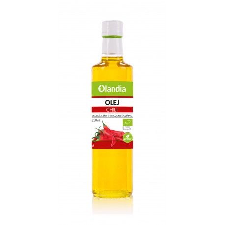 Ekologiczny Olej Słonecznikowy z Chili 250ml