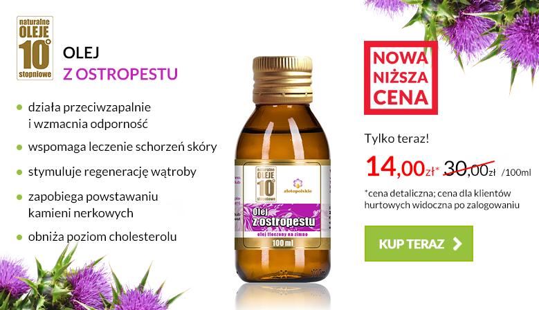 Promocja olej z Ostropesto 10c